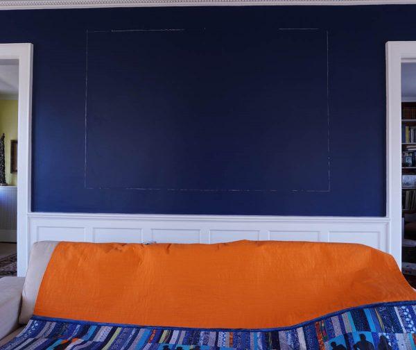 Anatomy of an art quilt - hanging the art work