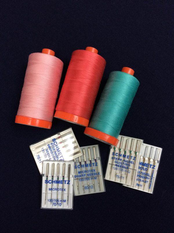 Batting Tip - needle and thread