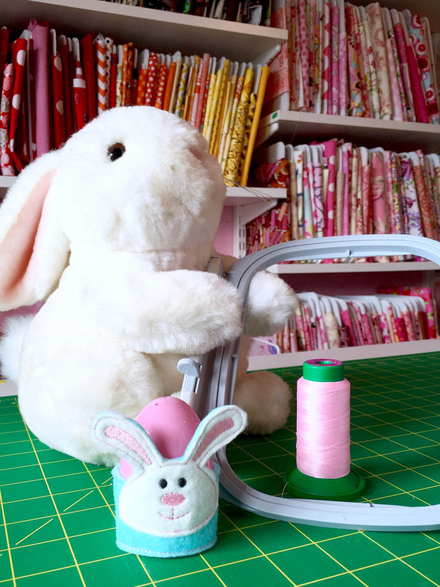 bunny easter egg holders weallsew