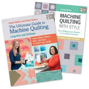 Christa Watson Machine Quilting Books