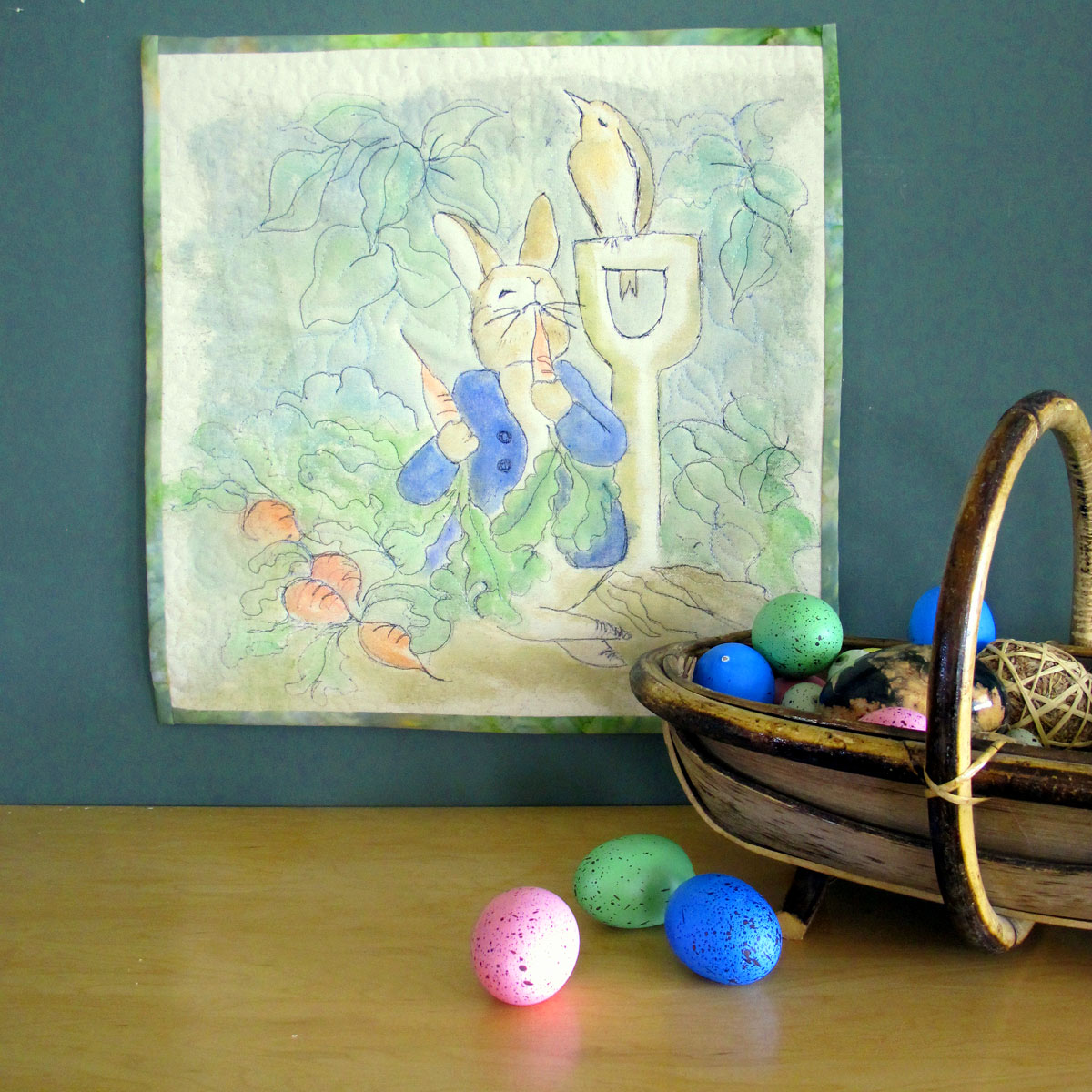 Peter Rabbit Wall Hanging
