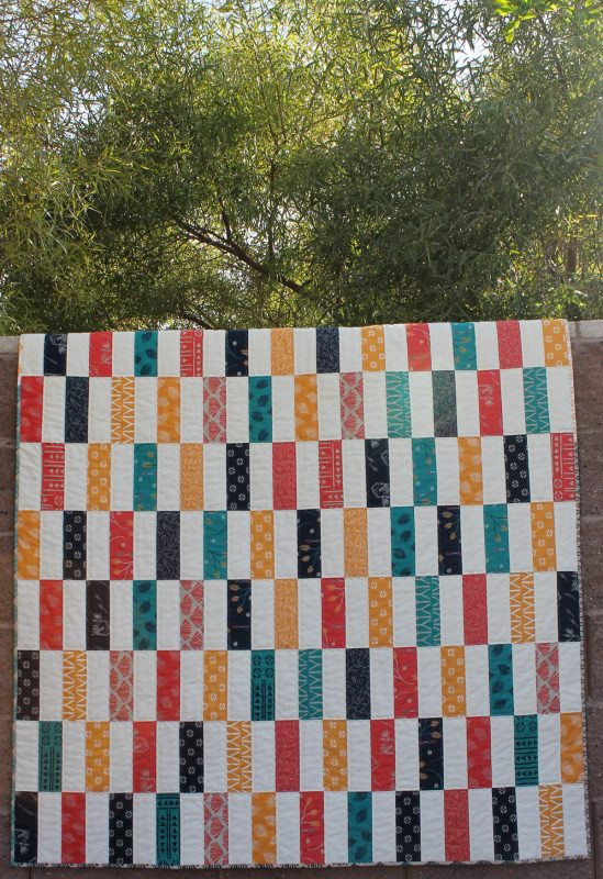 Super Simple Strips Quilt Along