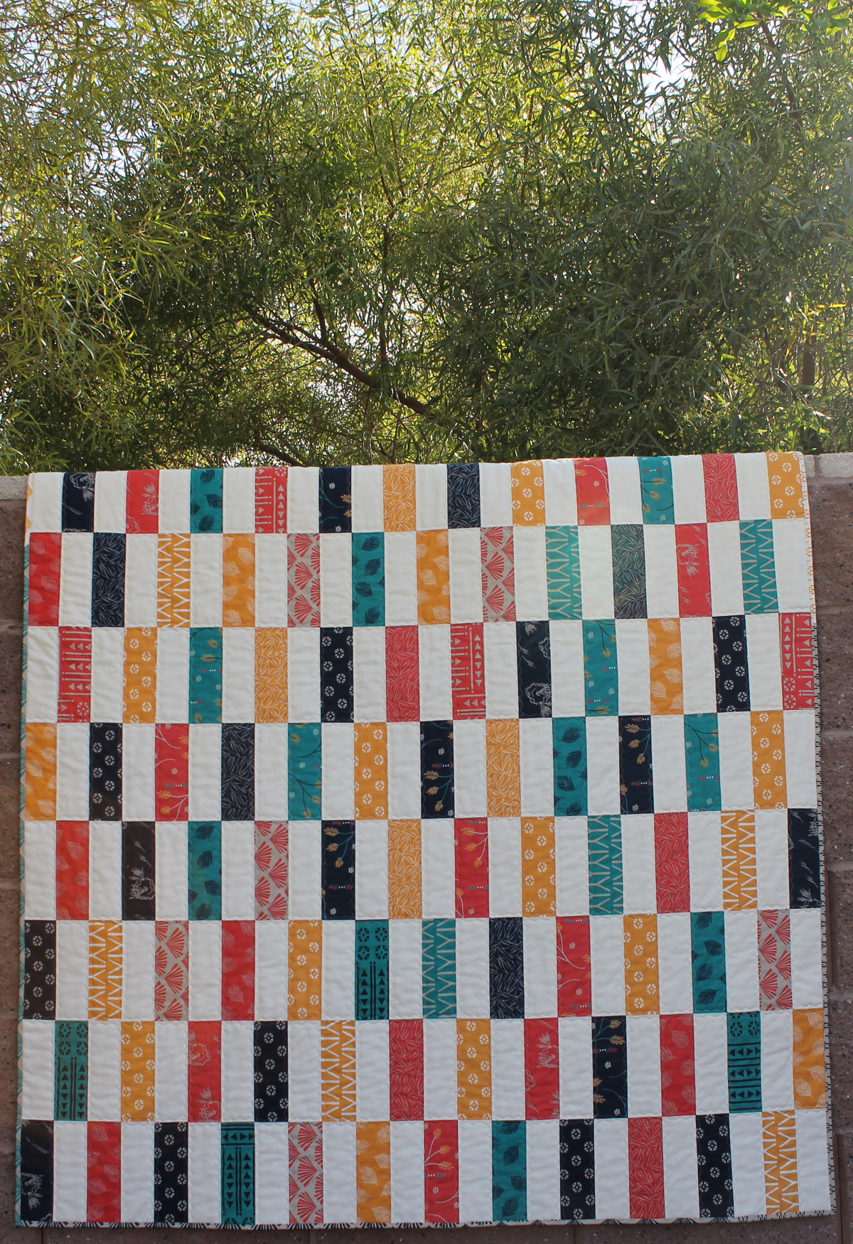 Simple Strips Quilt-along Part 1 - Materials List and Fabric Cutting