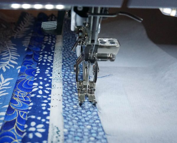 The Anatomy of an Art Quilt - Sewing Fabric Strips