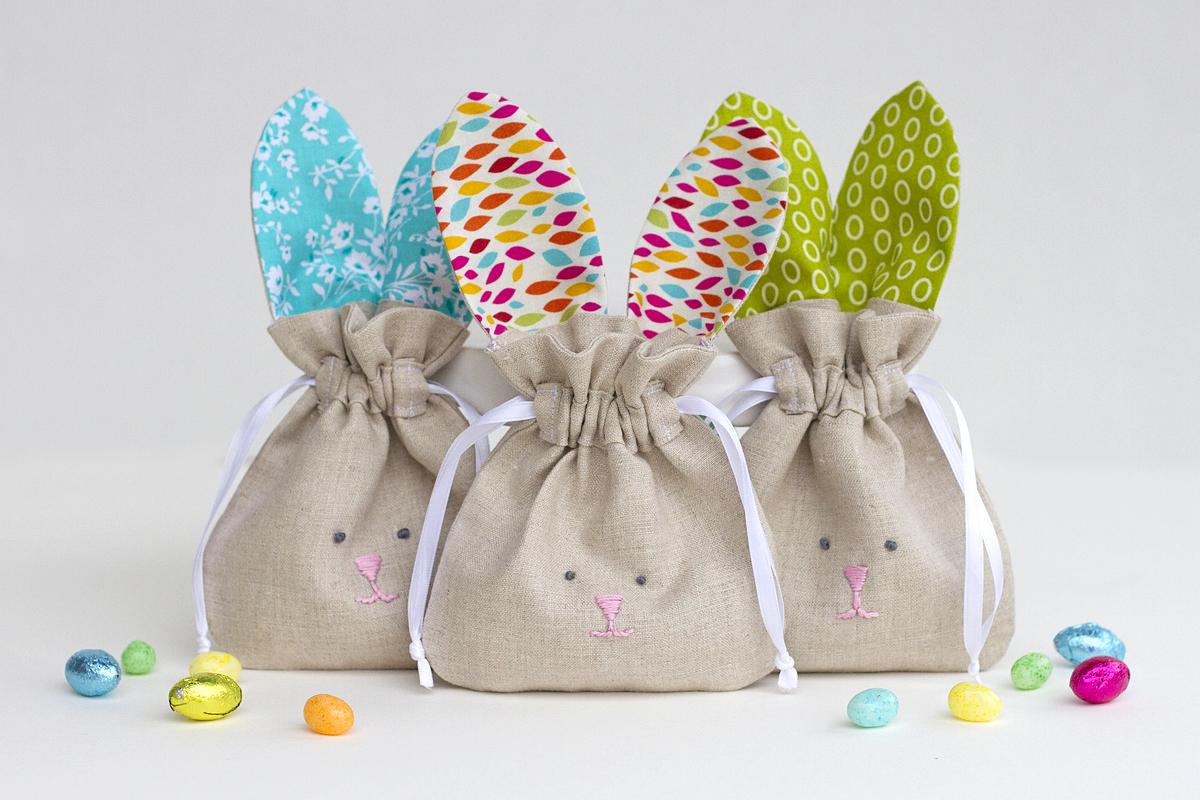 64504fb5b3eb Drawstring Bunny Bags | WeAllSew