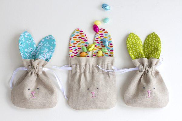 drawstring bunny bag 22
