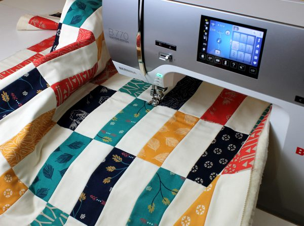 Simple Strips Quilt-along Part 4 - Decorative Stitch ...