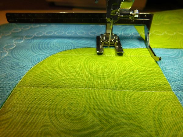 stitching with seam guides