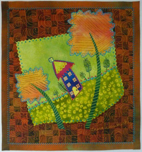 Embellishing the Blanket Stitch