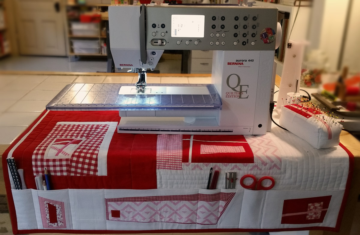Sewing Machine Mat With Pockets Weallsew