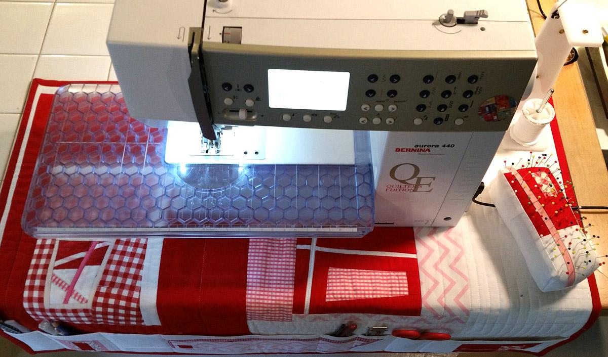 sewing machine mats