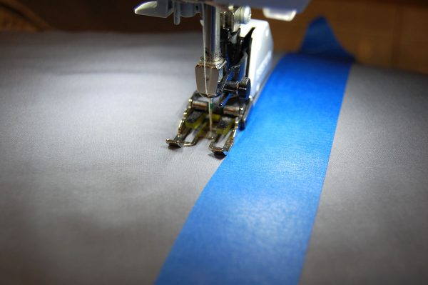Straight line quilting with walking foot #50