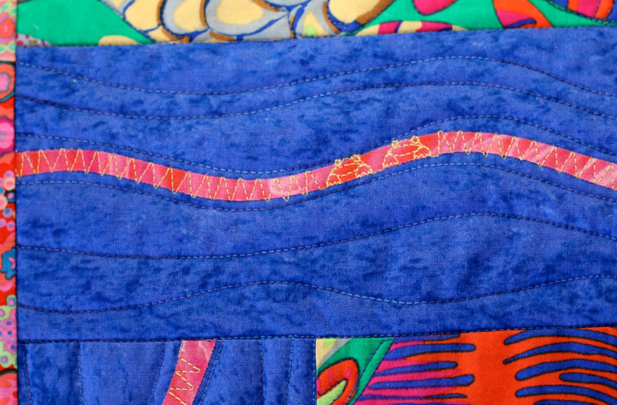 How to quilt wave patterns weallsew
