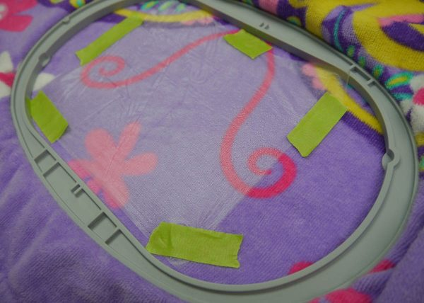 Name Embroidering on Towels