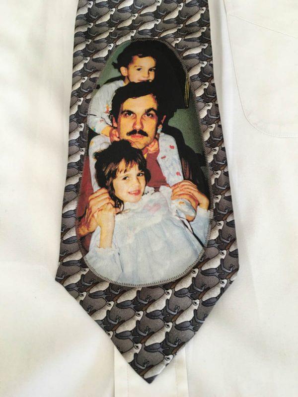 Photo Tie Tutorial - Finished Tie