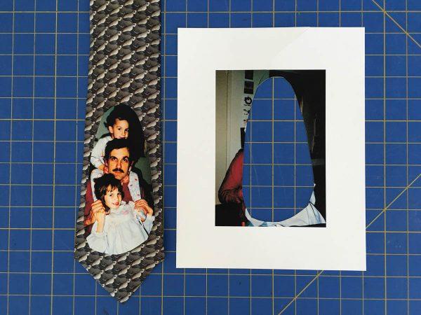 Photo Tie Tutorial - Paper Template