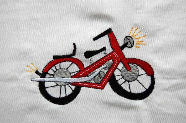 How to turn kids drawings into embroidery