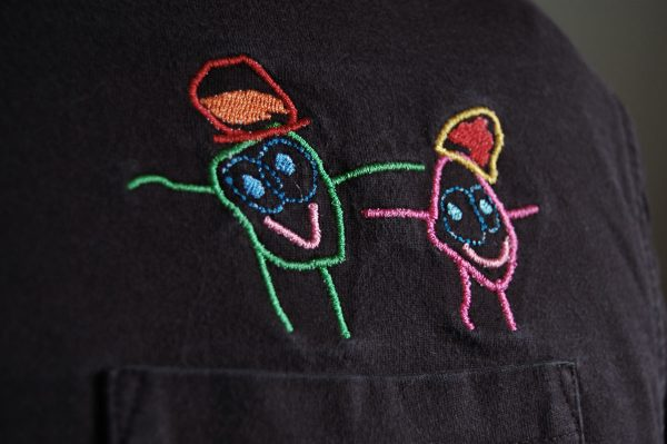 From kid s drawing to embroidery design weallsew