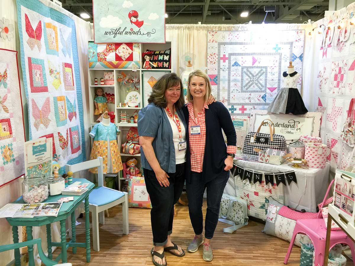 3 Trends Spotted at Spring International Quilt Market | WeAllSew : international quilt market - Adamdwight.com