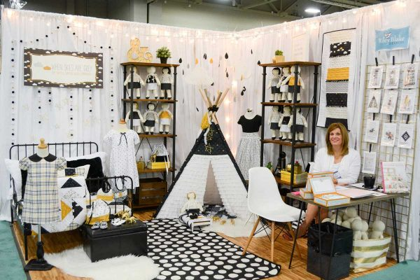 Trends spotted at International Quilt Market in Salt Lake City 2016
