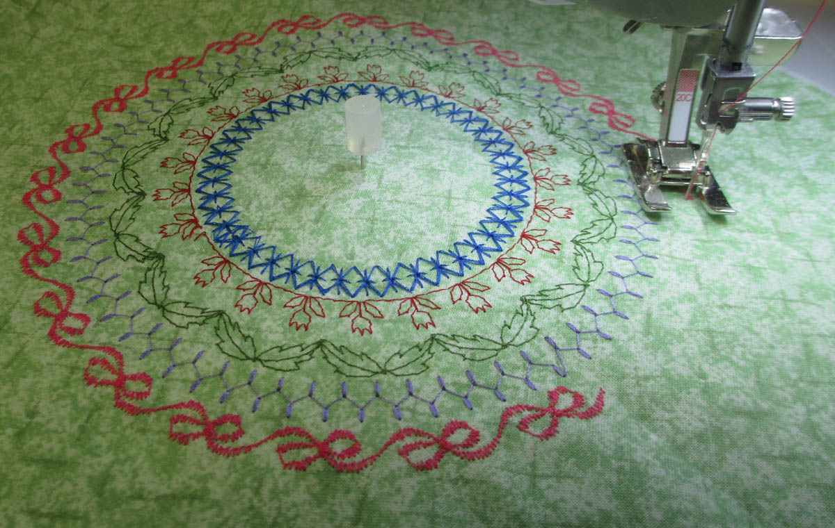 The bernina circular embroidery attachment—an overview