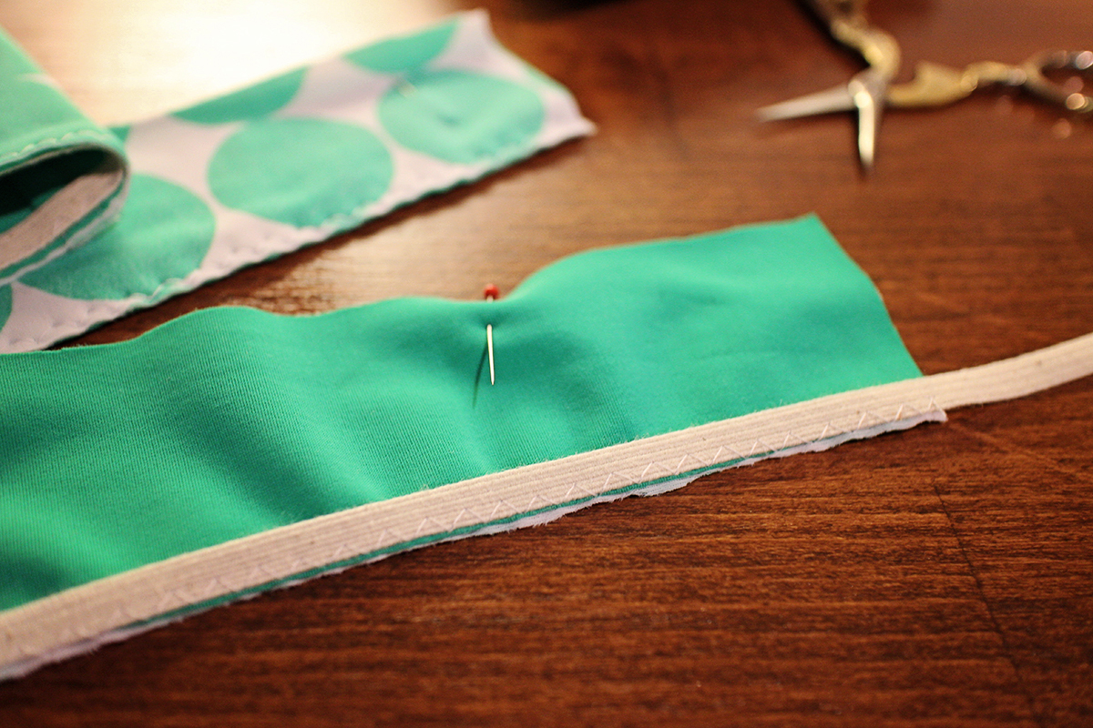 How To Sew Swimwear Elastic With A Coverstitch Weallsew