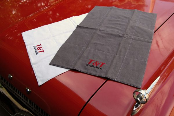 DIY Car show polishing cloth