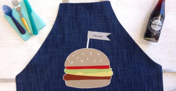 Summer apron tutorial