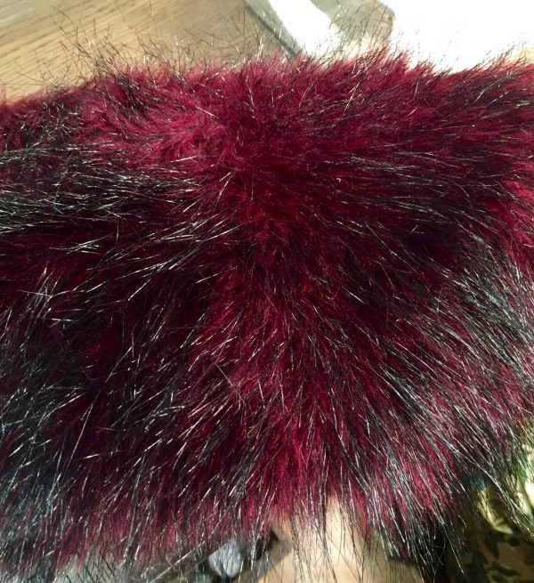 Tips for Sewing with Faux Fur by Kenneth King - finished fake fur seam