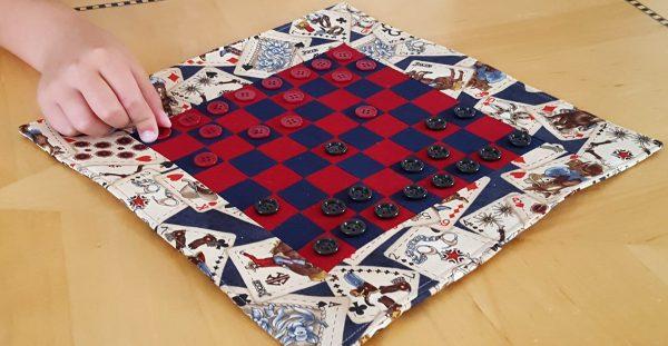 Mini checkerboard game tutorial