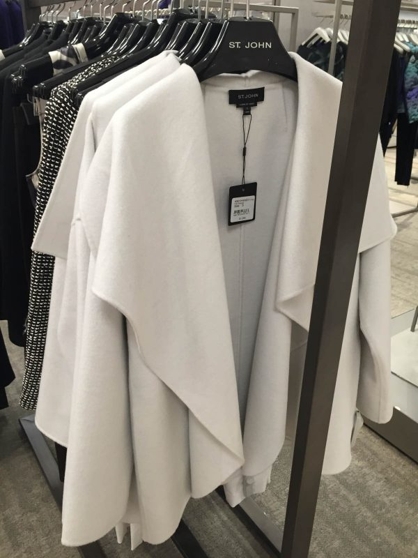 Fall Pattern Trends - St. John Coat