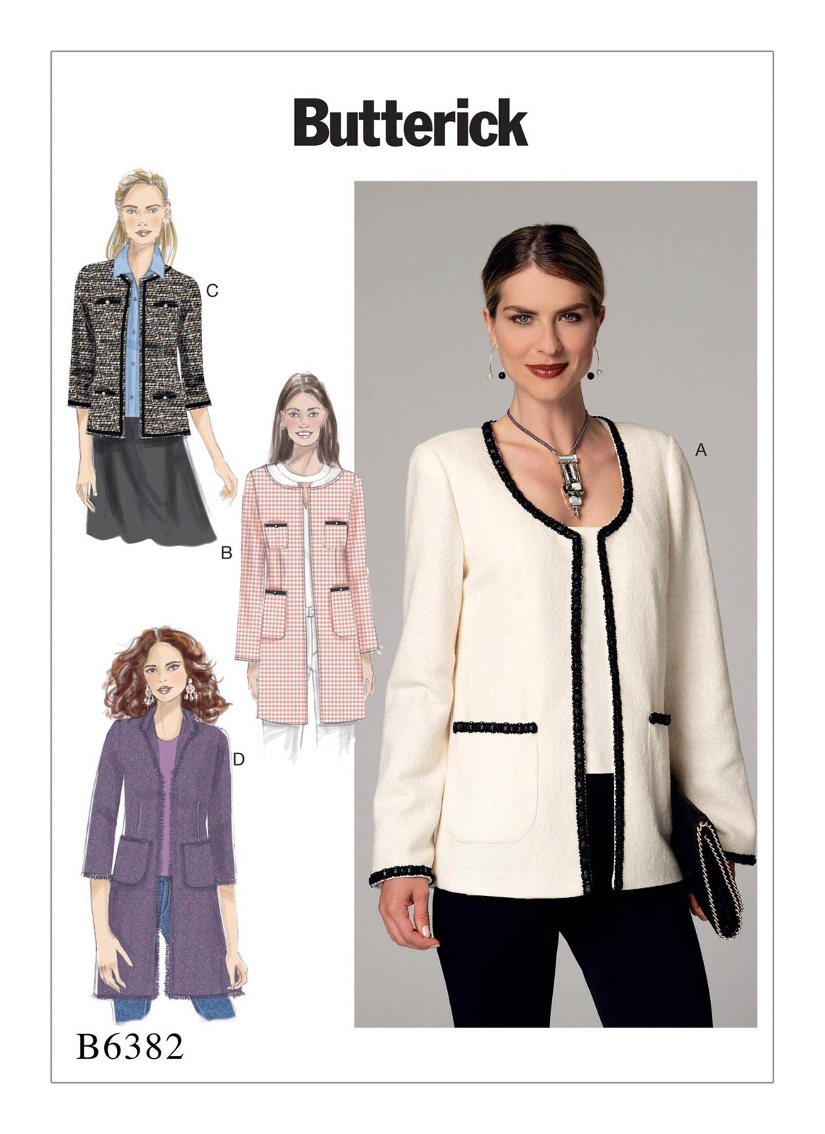 Fall Trends:Sewing Patterns for Jackets, Vests and Coats | WeAllSew