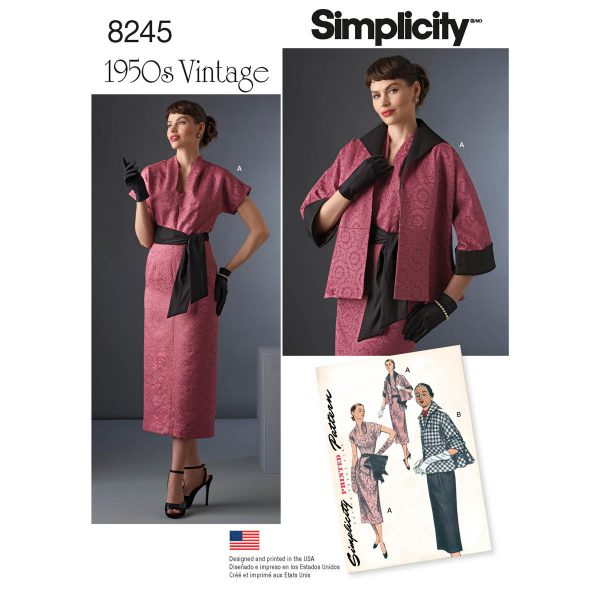 Fall Pattern Trends 2016 - Simplicity 8245