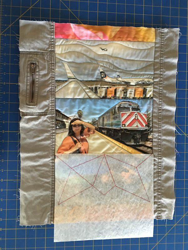 Quilting Green - adding a quilt block design
