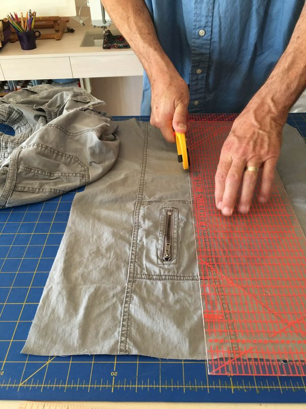 Quilting Green - Recycling travel pants