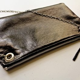 Shoulder Bag With Detachable Chain Strap Tutorial 1200 x 900 BERNINA WeAllSew Blog by Erica Bunker