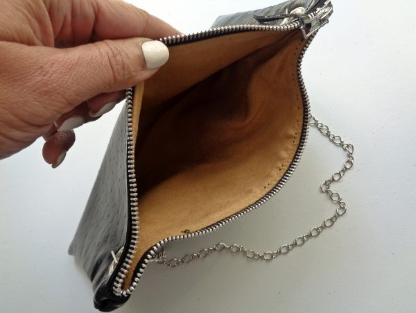 Shoulder Bag With Detachable Chain Strap Tutorial BERNINA WeAllSew Blog - Erica Bunker