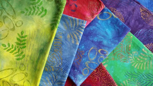 Surface Design Work - printed fabrics