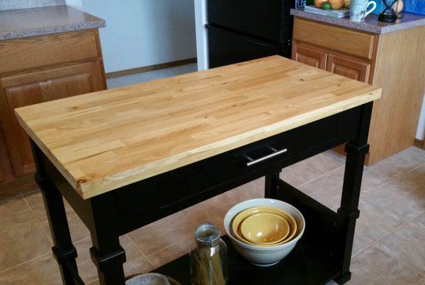 Surface Design Work - kitchen island