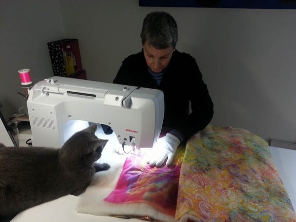Wholecloth Artquilt Series Part II - free-motion quilting buddy