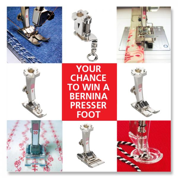 2016 Presser Foot Contest WeAllSew Blog