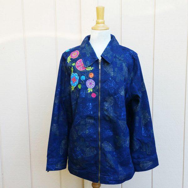 Embellished Denim Jacket - Front