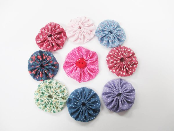 How to Create Yo-Yos with the BERNINA Circular Embroidery Attachment-Yo-Yos