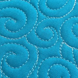 How to Free-motion Quilt Swirl Designs