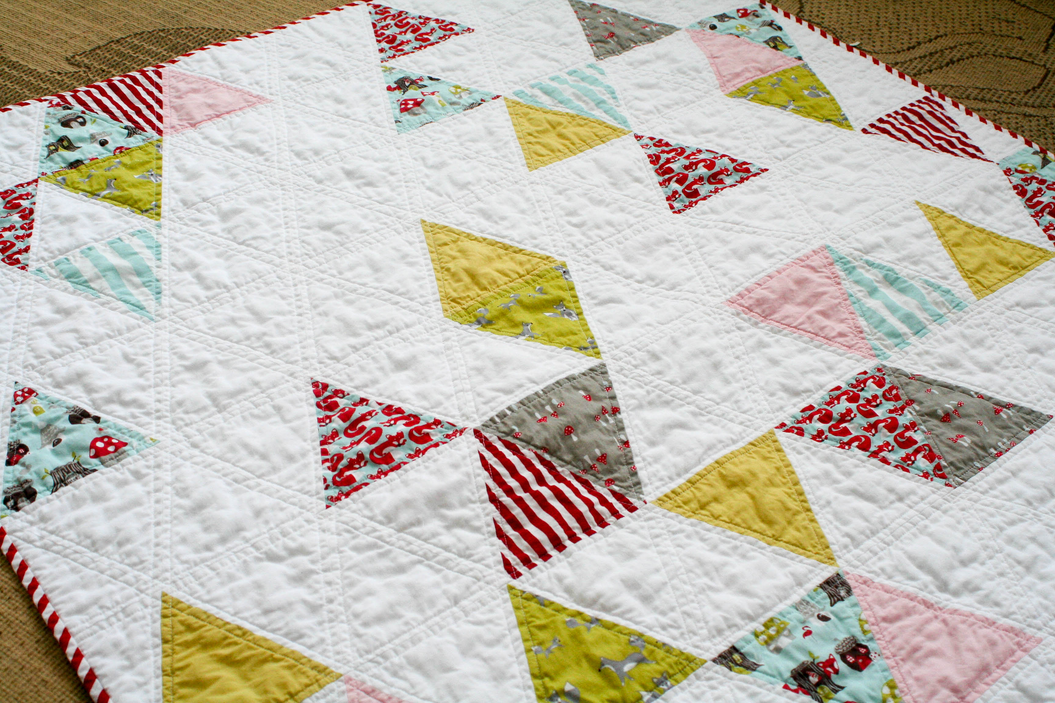 Quilting With Triangles Part 1 Cutting Weallsew