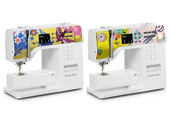 2017 BERNINA 350 SE sewing machines designed by Cotton + Steel
