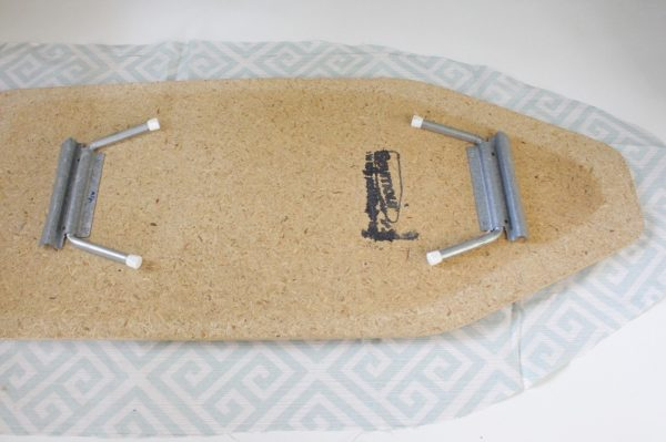 Mini ironing board cover Step Two: cut fabric