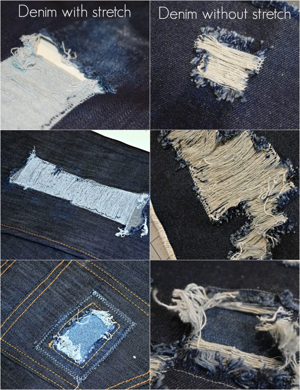 DISTRESSED DENIM BERNINA WeAllSew Blog 0