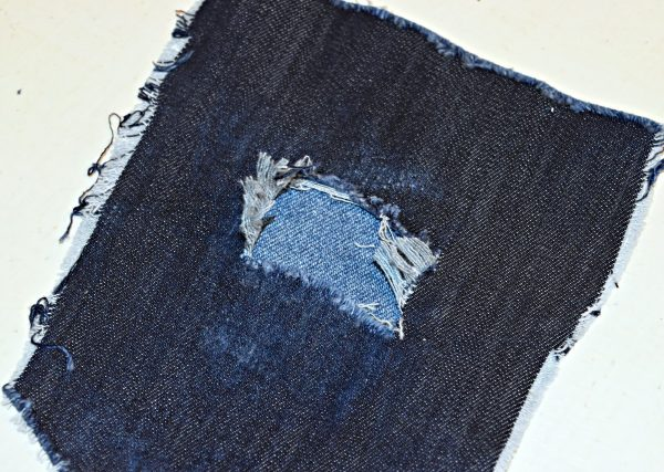 DISTRESSED DENIM BERNINA WeAllSew Blog 21