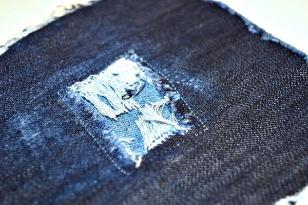 DISTRESSED DENIM BERNINA WeAllSew Blog 22